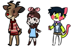 Animal crossing adoptables by iyd