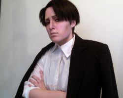 Levi Wig WIP by BleachcakeCosplay