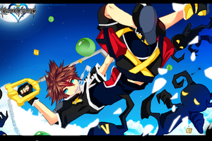 Sora  KH2 : Nobodies : by Ranniiee