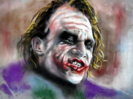 Why So Serious by astarvinartist