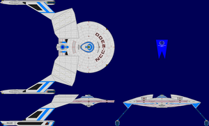 USS Chandley Multi-View by captshade