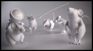 Mice - ZBrush by JoseAlvesSilva