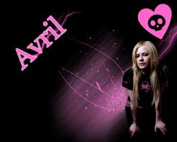Wallpaper - Avril by LordSlayer
