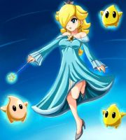 Rosalina, watcher of the stars by SigurdHosenfeld