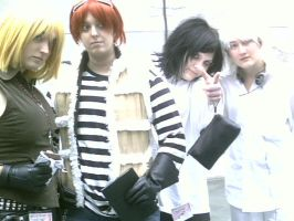 Death Note Cosplay by SharinganWeasalLight