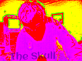 Manipulated Selfie 160: A Logo For Me by TheSkull31
