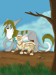 Adira and Zen- Someone New Contest Entry by PurpleEscape