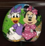 Painted Rock - Minnie and Daisy by starfiregal92