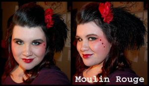 Makeup: Moulin Rouge by Didaverseend