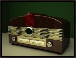 Smod Deco Radio by Sprogger