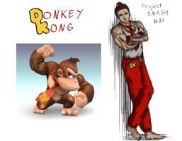 Project SMASH - Donkey Kong by Krowjak