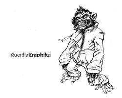 guerilla monkey 2 by griiot