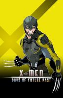 X-Men Days of Future Past by Eric-Masterson