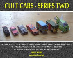 Cult Cars - Series Two by mikedaws