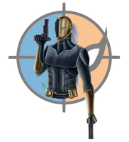 Deathstroke by Green-Nightingale