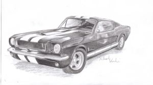 Mustang Fastback 1965 by MadMike27