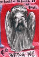 Chibi Weeping Angel by FuriarossaAndMimma