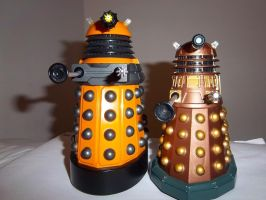 Daleks quick pic by Gentleman-Chuck