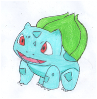 Bulbasaur by IruzaNadiru