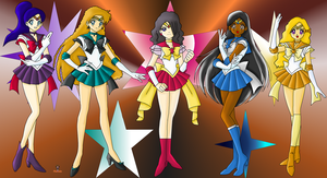 The Senshi Of Destruction by Phoenix-Nightfire