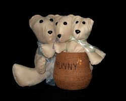 Three Bears and the Hunny Pot by UrsulaPatch