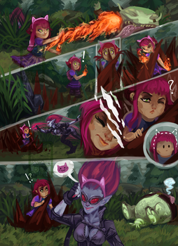 League of Legends - Short comic by Kobitka