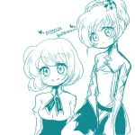 Doodle : Akane and Chihiro by Maronz1223