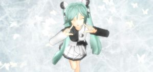 MMD - Conflict Miku by easterlil