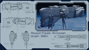 Assault Frigate: Archangel by 19-68
