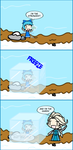 The Queen Freezes by RandomNumbers5902672