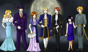 Old School Cullens- Twilight by agent-indigo