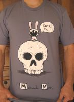 Death Rabbit tshirt by sebreg