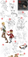 Oh yes an art dump. by yourcommonmuggle