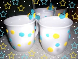 Mudkip Mugs by TRALLT