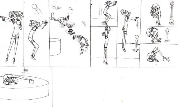 Ball Routine 6 by lalunafelis