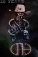 Cowboys From Hell 20  Years by noizkrew