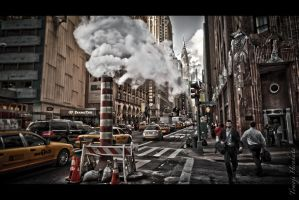 Madison Avenue - Manhattan by Tomoji-ized