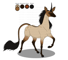 Parisa | Royal Doe | Glenmore-OldRef by Atroxa