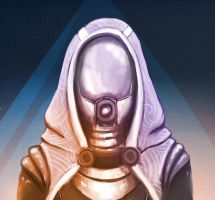 Tali'Zorah by Evergreen1661