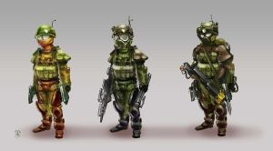 Soldier Equipment by lepetitgroin