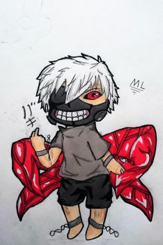 The Chibi Ghoul by RasengaMike