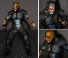 TDKR Deathstroke Concept by TheSix
