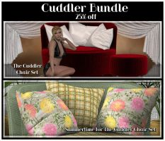 Cuddler Chair Bundle by Art-by-Lully