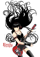 Emily Rocks by DeBonniez