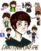 Happy Birthday Dan Howell by catus15
