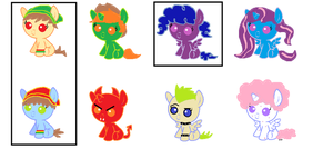 5 point pony adopts :open: by Darkwolf222
