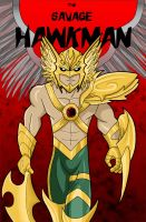 The Savage Hawkman by HeroOfZeros