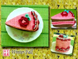 Strawberry Cake 1 by winter-fall