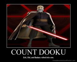 Star Wars The Clone Wars Count Dooku by Onikage108