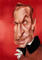 Vincent Price by Parpa